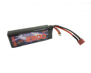Kypom Batterie LiPo 11,1V 2200mAh 40C (Deans Large)