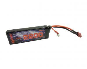 Kypom Batterie LiPo 7,4V 2200mAh 40C (Deans Large)