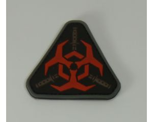 Patch Biohazard Rouge