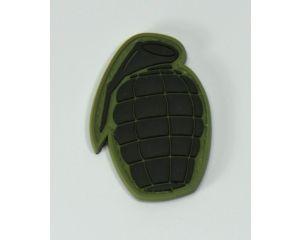 Patch Grenade Noir