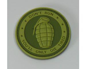 Patch Grenade Rond OD