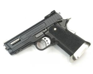 WE Hi-Capa 3.8 G-Force Velociraptor Black