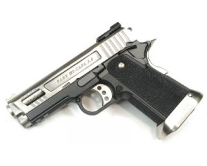 WE Hi-Capa 3.8 G-Force Velociraptor Silver