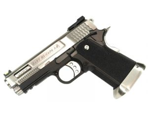 WE Hi-Capa 3.8 G-Force Brontosaurus Silver