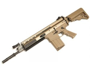 WE MK17-H Tan Open Bolt GBB - SOPMOD Version