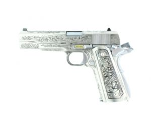 WE 1911 Double Canon GBB (Floral Pattern)