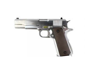 WE 1911 Double Canon GBB (Silver)