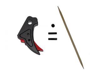 WiiTech Détente pour G-Series Marui / WE (Black/Red)