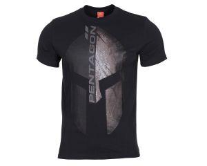 Pentagon Tshirt Eternity Noir