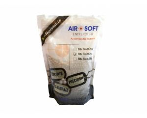 Billes BIO Airsoft Entrepot 0,25g - 1kg