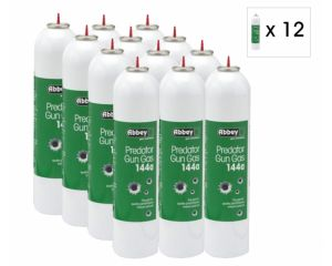 Abbey Gaz Predator 144A 700ml (Lot de 12 bouteilles)