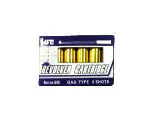 HFC Set de 6 cartouches pour Revolver
