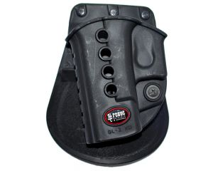 FOBUS GL-2 ND LH BHP RT HOLSTER RÉTENTION PASSIVE POUR G17/G18/G19 - NOIR - GAUCHER