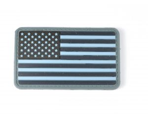 Patch USA Flag BK