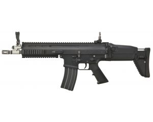 WE MK16-L Black Open Bolt GBBR