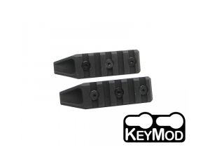 Dytac Pack de 2 Rails 5 Slot pour Keymod