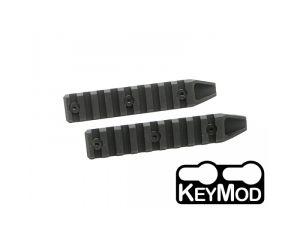 Dytac Pack de 2 Rails 9 Slot pour Keymod