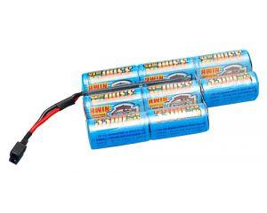 G&P Batterie NiMh 9,6V 3300mAh (Deans Large) M14 DMR