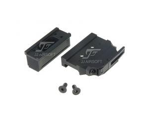 JJ Airsoft Montage QD Bas et Haut pour Micro T1