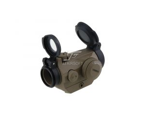 JJ Airsoft Red Dot Type Micro T2 TR02 - Tan