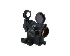 JJ Airsoft Red Dot Type Micro T2 (TR02) Montage Haut QD - Noir