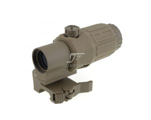 JJ Airsoft Magnifier 3x G33 (Tan)