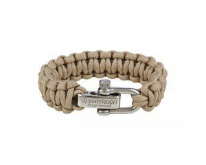 Pentagon Bracelet Paracorde (Khaki)