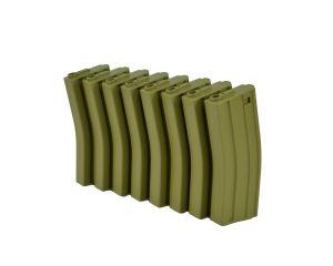 MAG Boite de 8 Chargeurs Mid-Cap 130BBs M4/M16 (OD)
