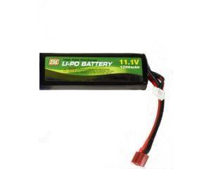 Modify Batterie Li-Po 11.1V 1200mAh 25C