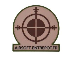 Patch Airsoft Entrepot (Multicam)