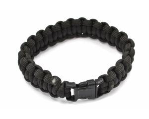 Pentagon Bracelet Tactique en Paracorde 330 Black