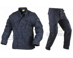 Pentagon Ensemble CDU (type ACU) Rip-Stop Navy Blue