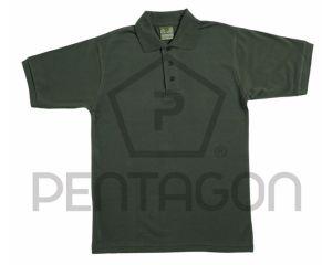Pentagon Polo Piquet T-Shirt Forest Night
