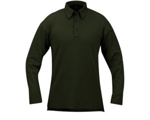 Propper ICE™ Men's Performance Polo Manches Longues Dark Green