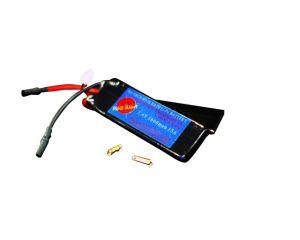 RA-Tech Batterie LiPo 7,4V 1600mAh 15C Custom KAC PDW