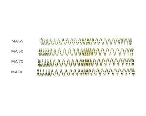 MAG Set de 4 Ressorts (MA135-MA190) pour AEG