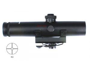 """Vector Optics Lunette """"Streak"""" 4x22 pour Carry Handle M4"""