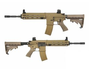WE AR4168 Open Bolt GBB Tan