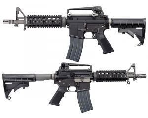 WE M4 CQB Open Bolt GBB BK