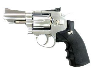 WinGun 6mm 2.5' Revolver (Co2) Silver/BK