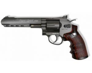 WinGun 6mm 6' Revolver (Co2) Noir/WD