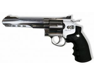WinGun 6mm 6' Revolver (Co2) Silver/BK