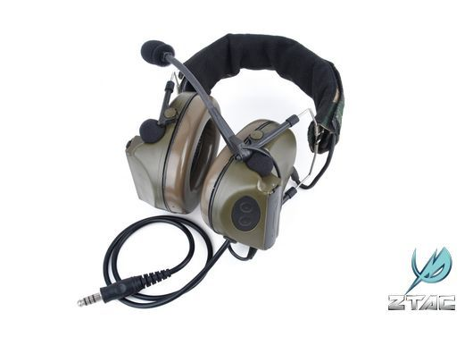 Z Tac Headset Comtac Ii Headset Et Ptt Equipement Electronique