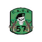 Logo du partenaire airsoft CATE 57