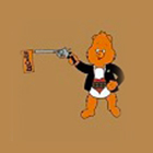 Black Airsoft Bear
