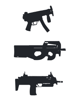 Catégorie hover COMPACT / SMG / PDW